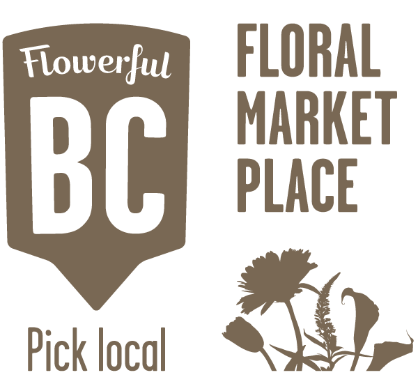 Flowerful BC Floral Market Place logo